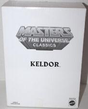 HE MAN MOTUC CLASSICS KELDOR W/ZOLOWORLD CASE & WHITE BOX #R6259 MINT ON CARD