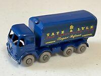 Matchbox Lesney Gray Wheels #10-C Sugar Container Truck