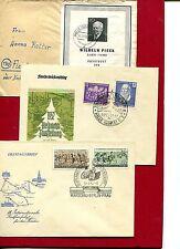 DDR - 6 documenti giustificativi - 50er anni (26071)