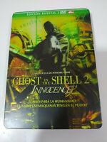 GHOST IN THE SHELL 2 INNOCENCE STEELBOOK CAJA METALICA - 2 DVD MAMORY OSHII