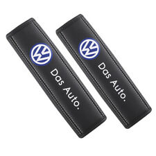 2Pcs Car Seat Belt Pads Shoulder Strap Cushion Covers For Volkswagen