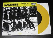 "RAMONES Carbona Not Glue 7"" YELLOW WAX SUB POP limited 500 KBD Clash Misfits NEW"
