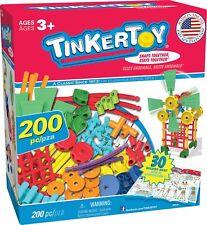 Tinkertoy 30 Model Super Building Set – 200 Pieces – For Ages 3+ Preschool