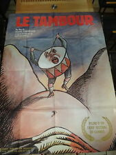 MOVIE POSTER / AFFICHE 116 x 158cm LE TAMBOUR ( GÜNTER GRASS )