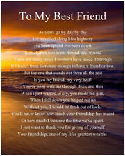 buy best friend poems ebay