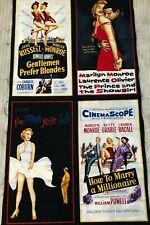 "Robert Kaufman ""Hollywood Icons"" fabric panel 43"" x 23""  $15.00 Marilyn Monroe"