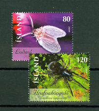 the Spider and the Fly set of two stamps mnh Iceland 2009 #1160-1