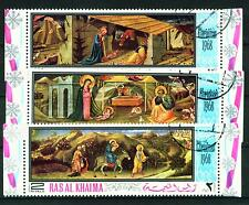 Famous Italian Religious Cristmas Paintings set of 3