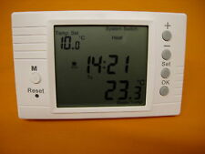 Large Screen Digital Programmable Volt Free  Room Thermostat 16Amp (TH-2005)