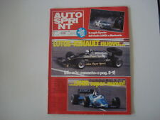 AUTOSPRINT 7/1983 RENAULT 5 TURBO CORSE / RENAULT 9 DIESEL