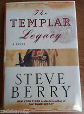 THE TEMPLAR LEGACY by STEVE BERRY - U.S. 1ST ED 1ST PRINT -SIGNED