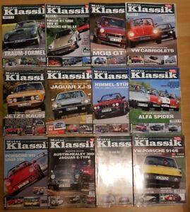 Motor Klassik Jahrgang 2004 komplett Hefte 1-12 Zeitschrift Automobile Oldtimer