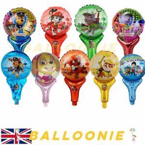 Paw Patrol Mini Balloons Foil Birthday Party Chase Marshall Rubble Zuma Kids Toy