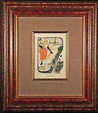 Jane Avril Limited Edition Color Lithograph after Toulouse-LAUTREC 1896