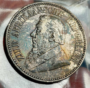 South Africa 2 1/2 Shillings 1896
