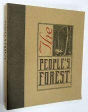 The People's Forest by Gregg Borschmann, Softcover, 1999, SIGNED by Author