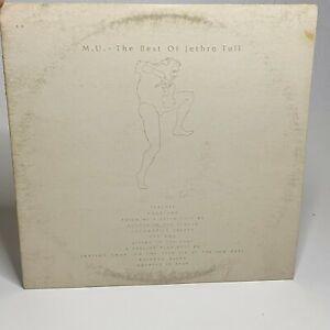 Jethro Tull – M.U. - The Best Of...: Chrysalis 1975 Vinyl LP Compilation (Rock)