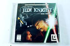 Star Wars Jedi Knight Dark forces 2 2001 PC Game   2 CDs
