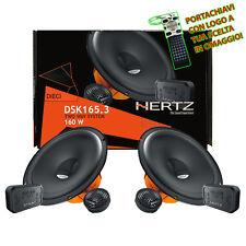 Hertz DSK 165.3 Kit 4 Casse Auto Altoparlanti 2Vie Set 6 Pezzi 165mm Linea Dieci