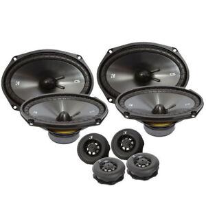 "2 SETS Kicker CS Series 43CSS694 6x9"" 900W Car Audio Component Speaker System"