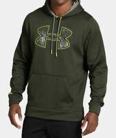 Men's Under Armour Storm Fleece Big Logo Hoodie Size Large (3)