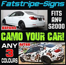 HONDA S2000 GRAPHICS CAMO STICKERS DECALS CAMOUFLAGE STRIPES VTEC 2.0 AP1 AP2
