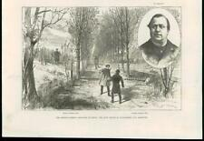 1887 - FRANCE GERMANY FRONTIER INCIDENT SCHNAEBELE ARREST ARMY POLICE (59B)