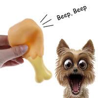 Cuccioli di cane giocattoli di pollo piedini di gomma giocattolo piccolo suonoTW