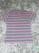 Lululemon Men's Xl Blue Red Striped Pima Cotton Short Sleeve Shirt