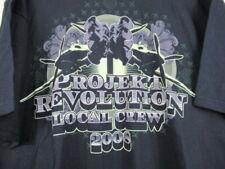 2008 Projekt Revolution T Shirt Local Crew Concert Tour Linkin Park Cypress Hill