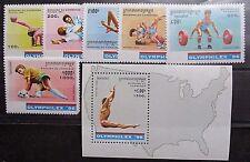 Cambodia 1996 'Olymphilex 96' Set & Mini Sheet. MNH.