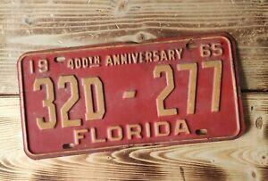USA Nummernschild/Kennzeichen/license plate/US car/Harley * Florida 1965*