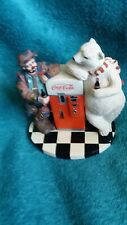 Cool Off With Coke Emmett Kelly Polar Bear Clown Collector's Edition