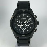 Fossil Mens CH-2515 Black Stainless Steel Chronograph Bracelet Watch