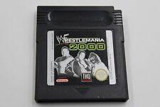 NINTENDO GAME BOY WWF WRESTLEMANIA 2000 SOLO CARTUCHO  PAL EUR