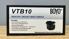 Boyo VTB10 Small Compact Bracket Mount Backup Camera Good Pic Brand NEW LOW $$