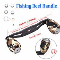 Replacement Carbon Fiber Fishing Reel Handle 95mm for Baitcasting Reels
