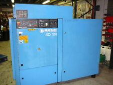 Air Compressor Boge SD100 Screw Compressor 430cfm 8 bar of dry air