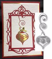 Lucca Ornament metal die Memory Box Cutting Dies 98659 Christmas Snowflake