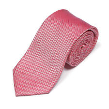 HARRODS OF LONDON Red White Electric Zig Zag Men's Silk Neck Tie