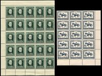 AUSTRIA #491 #B207 Stamps Postage SEMI-POSTAL Blocks Sheets Collection Mint NH