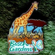 Busch Gardens Tampa Rare Vintage Sparkle Sky Giraffe Pin