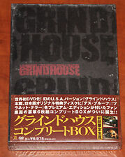 Grindhouse Complete Box Japan 6DVD Planet Terror Death Proof Tarantino Rodriguez