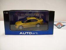 Subaru Legacy b4, Gold, 1999, Autoart 1:43, Boxed