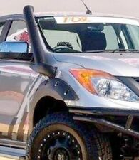 MAZDA BT50 2012 ONWARDS STAINLESS LOOK PLASTIC SNORKEL CUSTOM TUBE ACCESSORIES