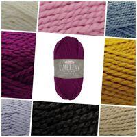 King Cole TIMELESS Super Chunky Acrylic Alpaca Soft Knitting Crochet Yarn100g