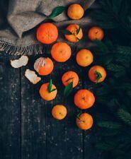 40Pcs Rare Orange Mandarin Fresh Seeds Sweet Fruits Perennial Spring Home Garden