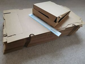 94 X Pizza Boxes, 9 Inch, 235mm X 235mm X 40mm, Collection Only