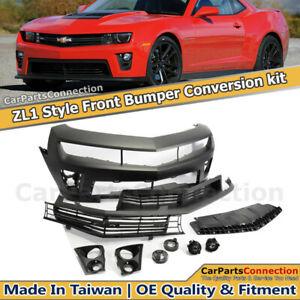 ZL1 Conversion Front Bumper 2010-2013 Chevolet Camaro LS LT SS / 14-15 ZL1 ONLY