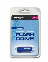 Integral Massive Capacity 256GB Courier USB 2.0 Flash Drive.